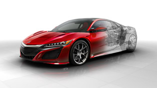 Acura Releases More Technical Details on the Super Cool NSX
