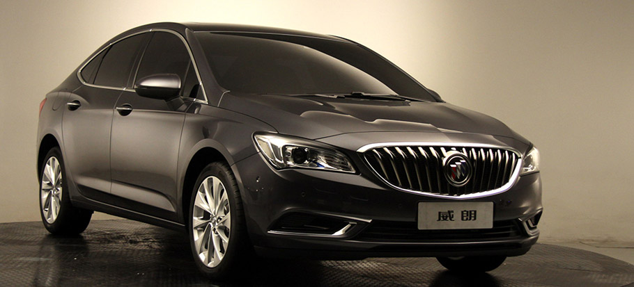 Buick Verano Front and Side View