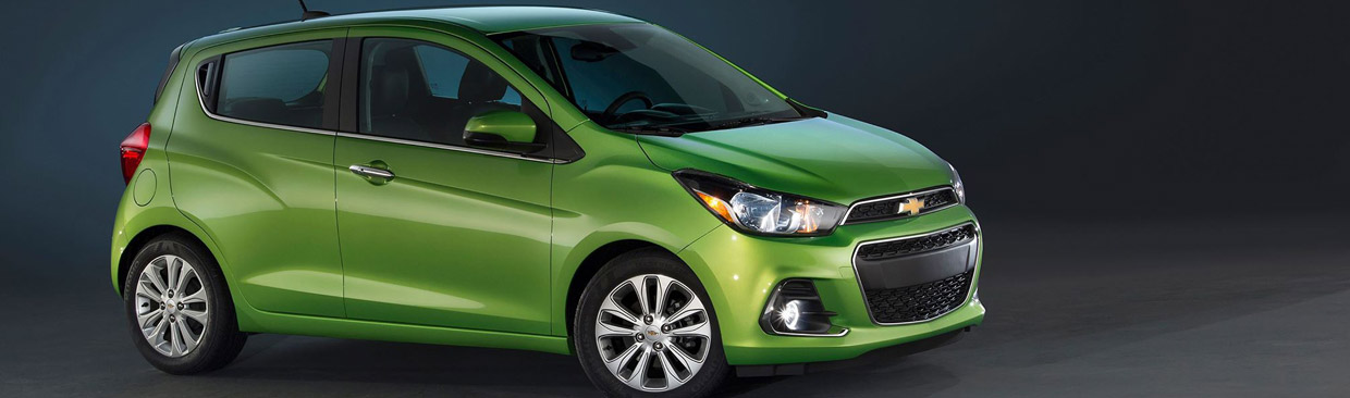 2016 Chevy Spark Side View