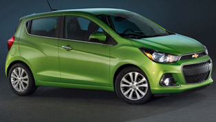 2016 Chevy Spark Goes Brighter