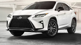 redesigned lexus rx makes debut at nyias