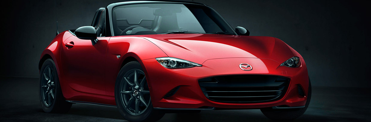 Mazda MX-5 Side and Front View