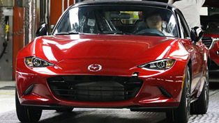 2016 Mazda MX-5 is Almost Here! The Production Has Begun.