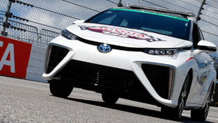 2016 Toyota Mirai Will Take Place At NASCAR Series Race