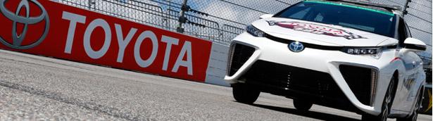 2016 Toyota Mirai Will Take Place At NASCAR Series Race