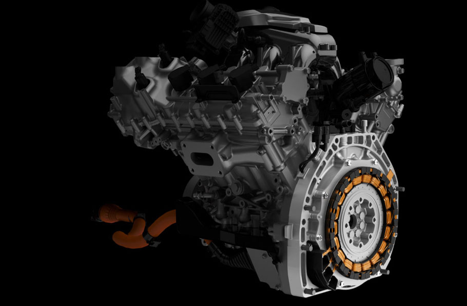 2016 acura nsx engine