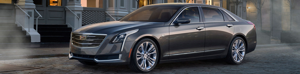 2016 Cadillac CT6 Side View