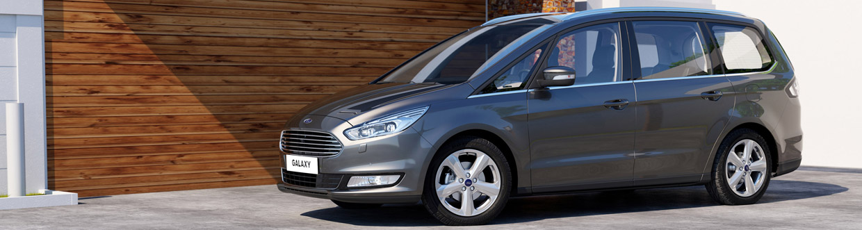 2016 Ford Galaxy Side View