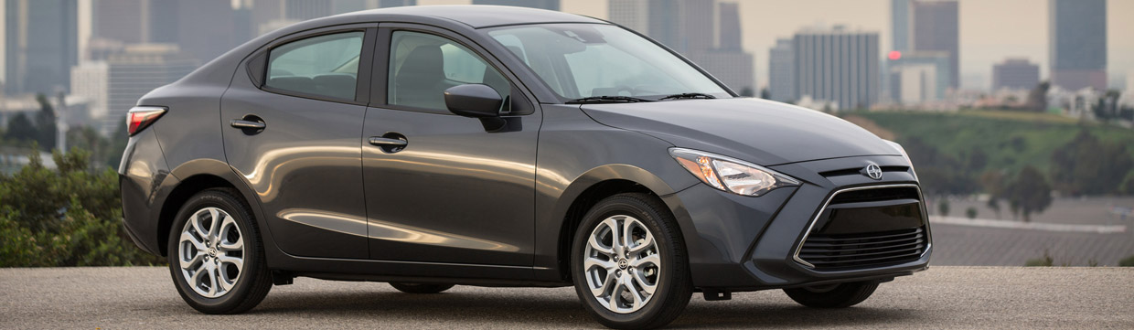 2016 Scion iA Side View