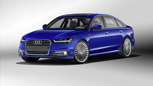 Audi Creates Special A6L e-tron Hybrid for the Chinese Market