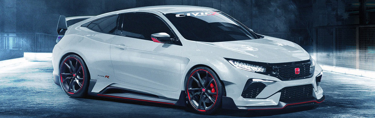 2017 Honda Civic Type R Coupe Render