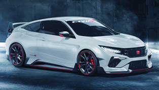 Take a Look at this Coupe-Inspired Honda Civic Type R