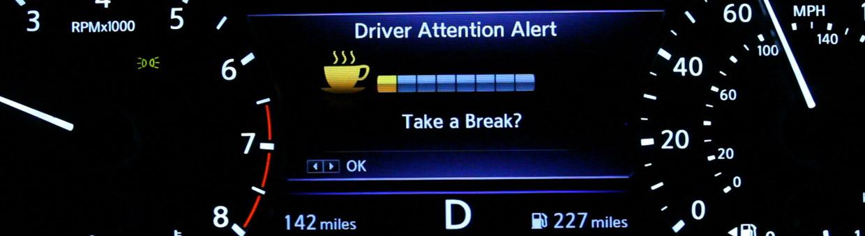 Nissan Driver Alert System