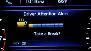 Nissan reveals Drowsy Driving Awarness System