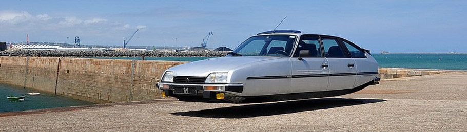 Citroen Cx Gti Turbo Flying Car