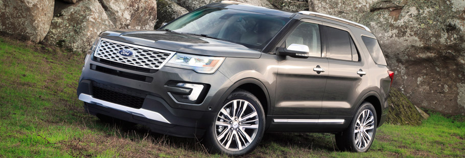2015 Ford Explorer with Sony System