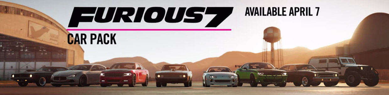 Forza Horizon 2: Furious 7 Car Pack