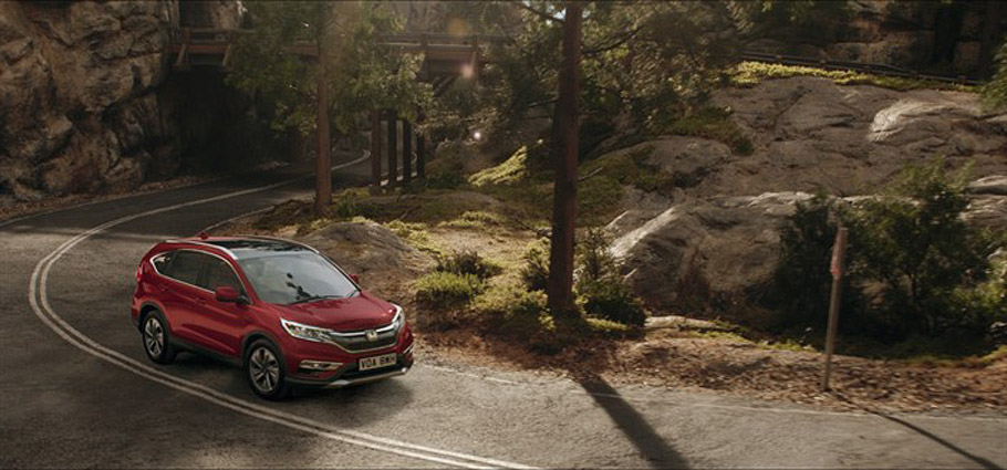 "Honda ""The Endless Road'"" Campaign"