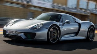Porsche 918 Spyder Goes for a Special Ride
