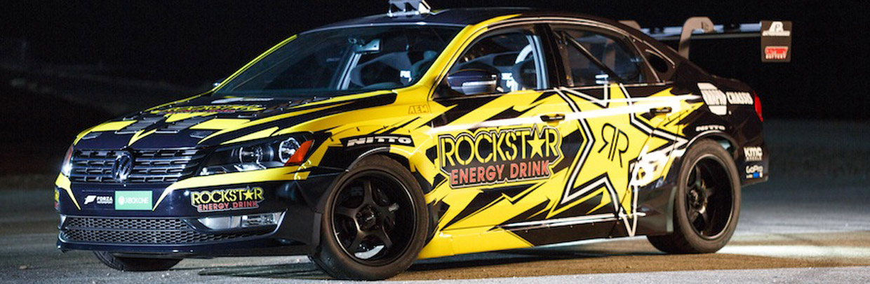 Rockstar Energy Drink / Nitto Tire VW Passat
