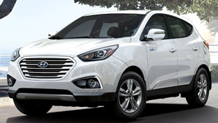 Hyundai With One More Award for the Tucson Fuel Cell