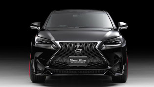 Black Bison is the Name Given to Lexus NX by Wald International
