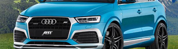 ABT Sportsline Unveils a 210HP Audi Q3 2.0 TDI