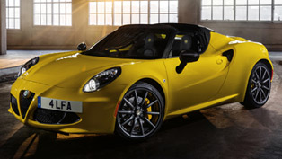 2015 Alfa Romeo 4C Spider is Ready for the Market!