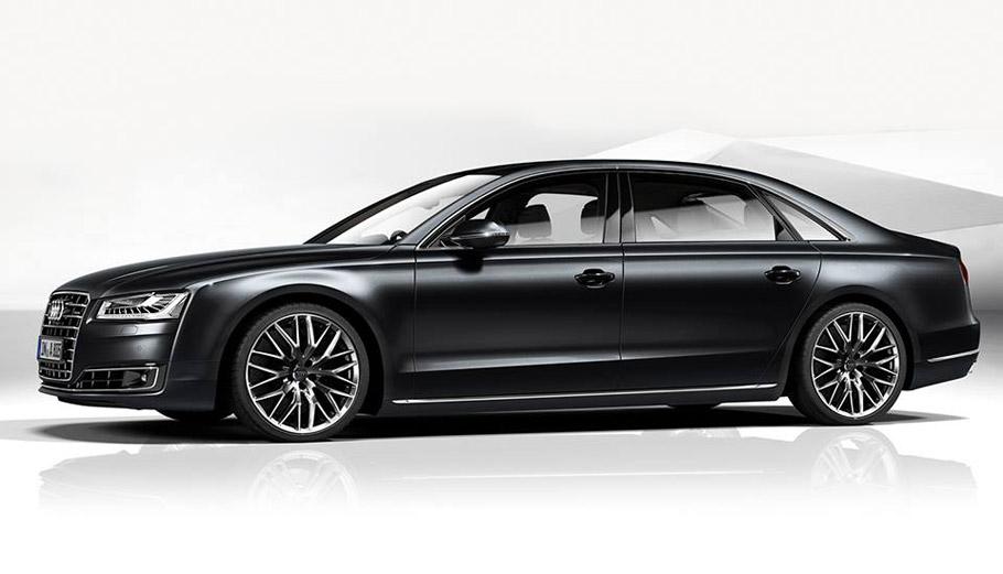 Audi A8 L Side View