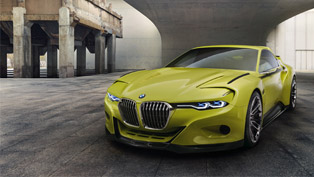 BMW Unveils the Stunning 3.0 CSL Hommage Concept [VIDEO]