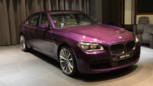 What Do You Think of This Twilight Purple BMW 760Li?