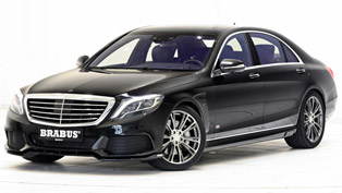 brabus demonstrates its latest masterpiece, the 2015 brabus mercedes-benz s500 plug-in hybrid