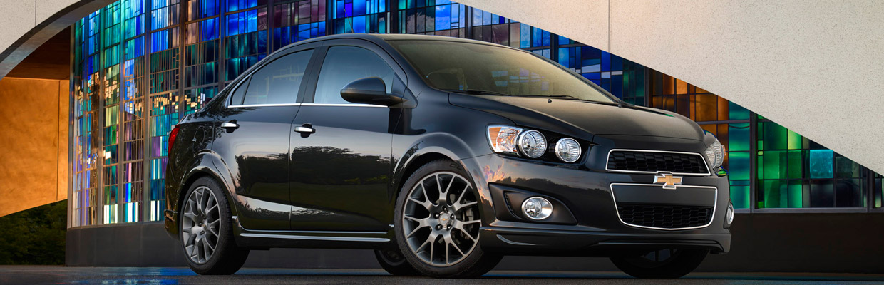 Chevy Sonic Side View