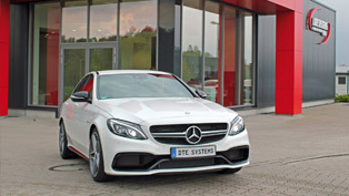 See How this Mercedes C63 AMG is Boosted to 590HP [VIDEO]