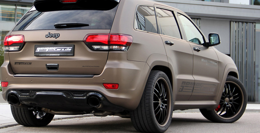 GeigerCars.de Release More Powerful Jeep Grand Cherokee SRT