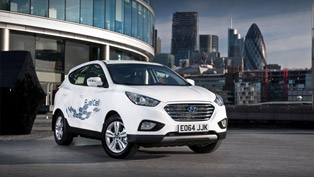 Hyundai ix35 is the First Mass Produced Fuel Cell EV