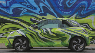 vauxhall and josh stika collaborated to create incredible piece of art