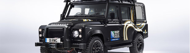 Land Rover Reveals A Special Model For the 2015 Rugby World Cup