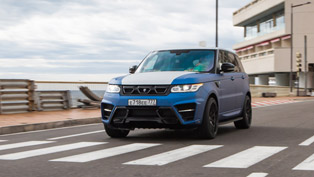 The WINNER Turns Blue: Meet the New Face of Larte Design's Range Rover Sport