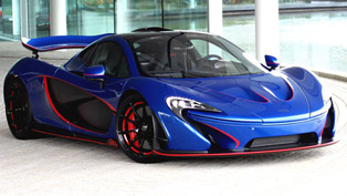 MSO Releases One-Off Red-Accented McLaren P1 [UPDATED]