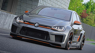 518HP Oettinger Volkswagen Golf R500 Unveiled at Wörthersee Meeting