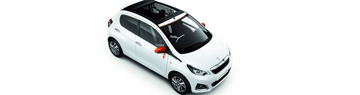 peugeot releases 108 roland garros special edition. Black Bedroom Furniture Sets. Home Design Ideas