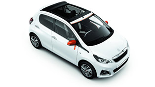 This Peugeot 108 Roland Garros SE is all about Love of Tennis