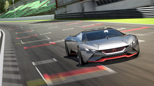 Peugeot Mysterious Concept is a Vision Gran Turismo [VIDEO]