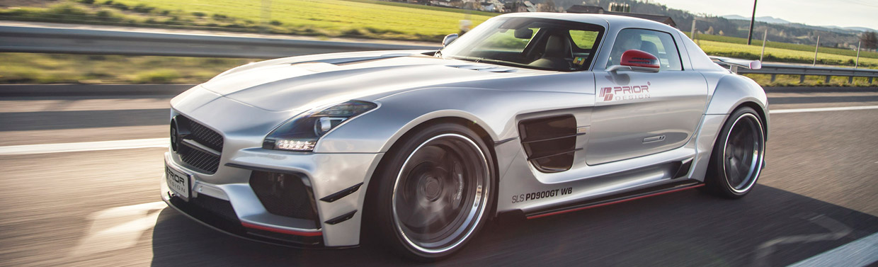 Prior-Design Mercedes-Benz SLS AMG Side View