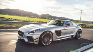 Mercedes-Benz SLS AMG Receives One-Off Prior-Design Aero Tuning