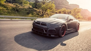 godzilla is back: meet prior-design's 720hp nissan gt-r