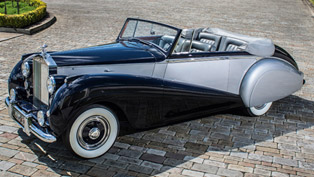 dawn rises for rolls-royce. rare model will ride under sunlight one more time