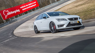 Seat Leon ST CUPRA 280 Sets Nürburgring Lap Record [VIDEO]