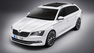 2015 skoda superb combi comes with wider proportions and more power [gallery update]